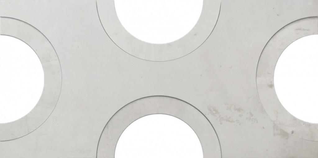 Dekorativní obklad REGENERATION White Decor Moon 45 x 90 cm