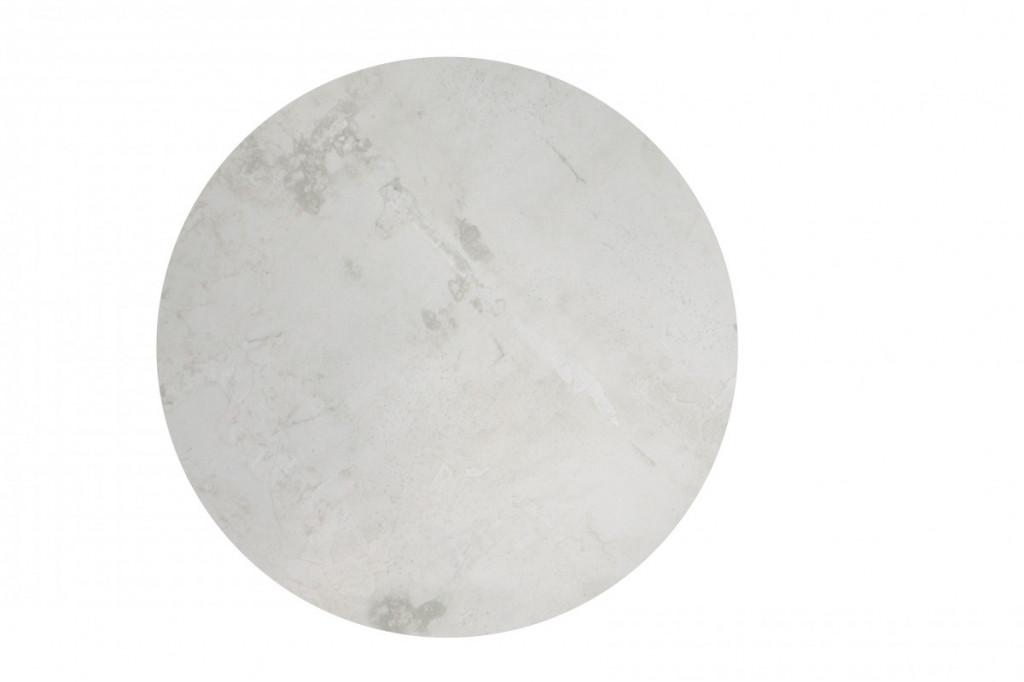 Dekorativní obklad REGENERATION White Circle Moon Natural 25 x 25 cm