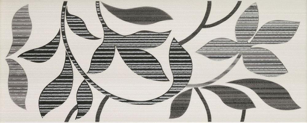 Květinový dekor FORUM Antracita