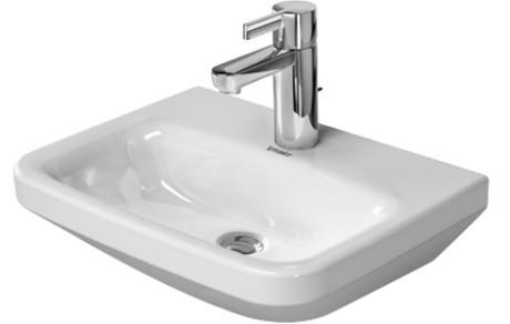 Keramické umývátko bez přepadu DURASTYLE 45 x 33,5 cm