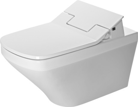 Závěsná keramická WC mísa DURASTYLE 62 x 37 cm se skrytým připojením