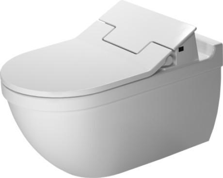 Závěsná keramická WC mísa STARCK 3 62 x 37 se skrytým připojením