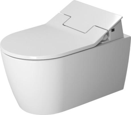Závěsná keramická WC mísa ME by STARCK 57 x 37 se skrytým připojením