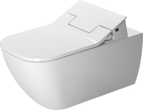 Závěsná keramická WC mísa HAPPY D.2 se skrytým připojením s Duravit Rimless