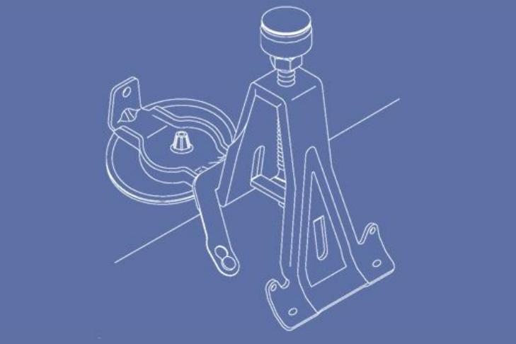 Speciální vanové nohy 5037 pro vany Asymmetric Duo