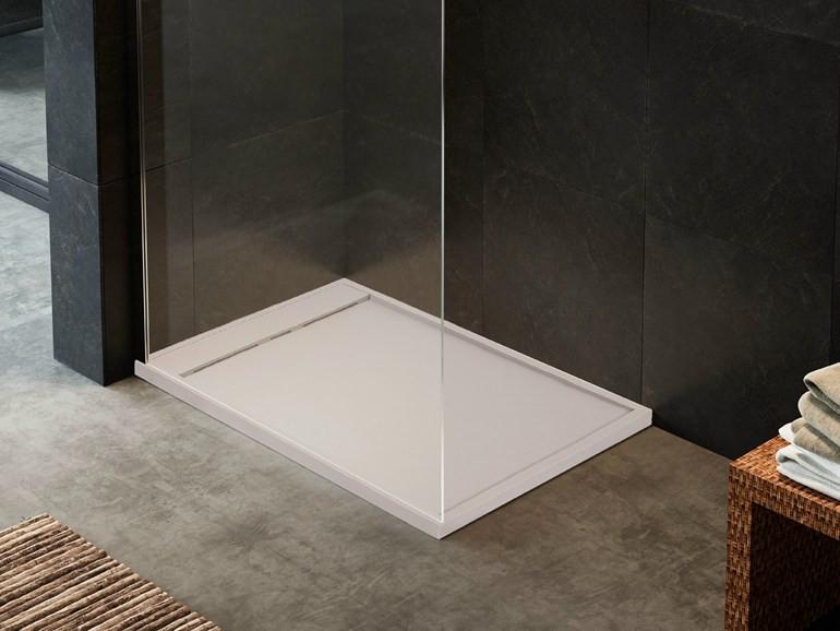 Sprchová vanička Glass 1989 RUG, bílá