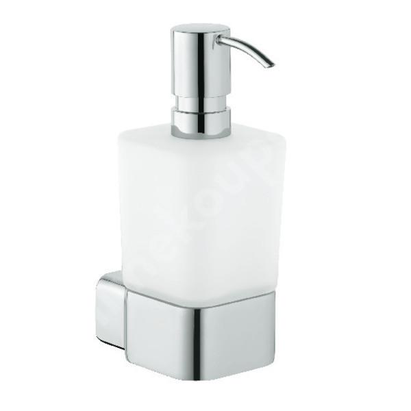 Dávkovač tekutého mýdla chrom - sklo KLUDI E2 4997605