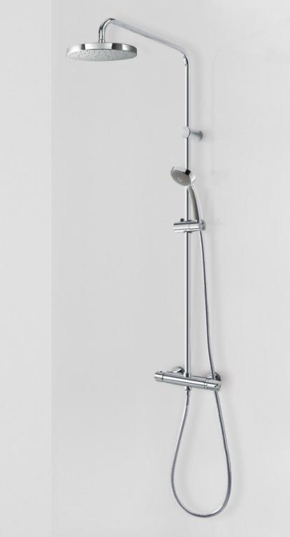 Termostatický nástěnný sprchový set TRES - LEX s kompletem