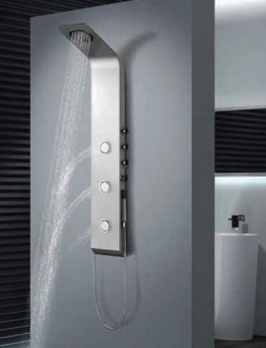Nástěnný sprchový panel LETE s pákovou baterie