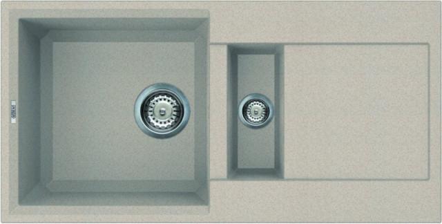 Kuchyňský dřez s odkapovou plochou Granitek EASY 425