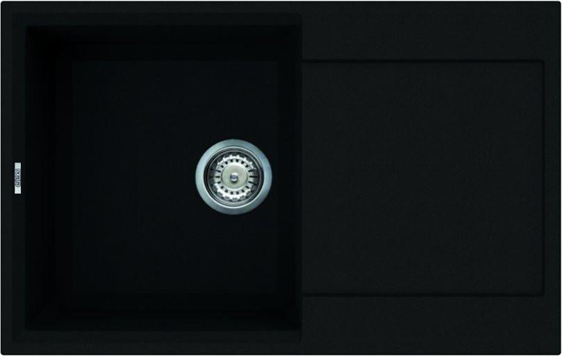 Kuchyňský dřez s odkapovou plochou Granitek EASY 300, 790 x 500 x 230 mm