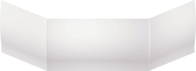TOKATA obkladový panel čelní 56cm, bílá