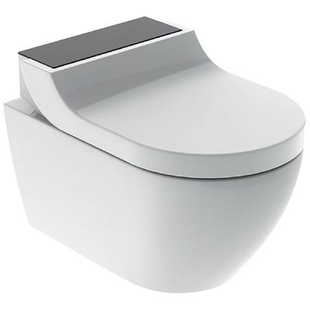 Závěsné WC s integrovanou sprchou AQUACLEAN Tuma, 360 x 553 mm