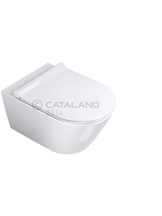 WC set ZERO včetně sedátka, upevnění a těsnění 55 x 35 x 27 cm