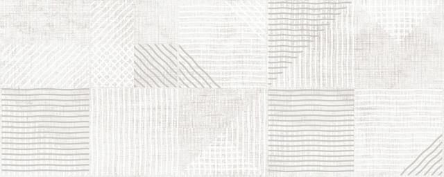 Lesklý dekor ROYAL SILVER 20 x 50 cm