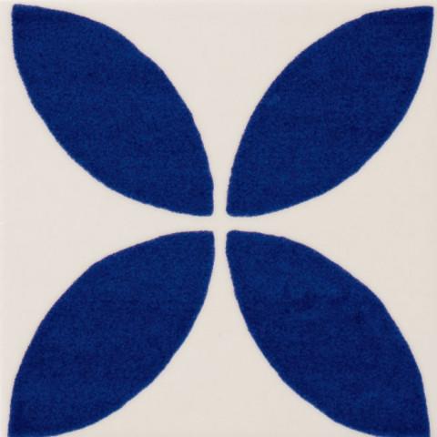 Inovativní dekorace s květinovým vzorem MAIOLICA II. ASTRO 10 x 10 cm