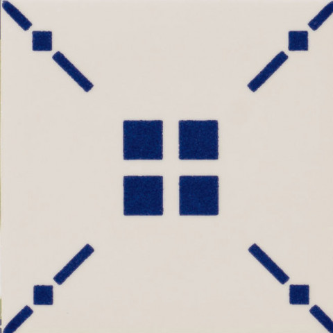 Inovativní dekorace s geometrickým vzorem MAIOLICA II. TRATTI 10 x 10 cm