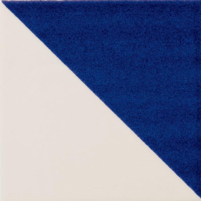 Inovativní dekorace s geometrickým vzorem MAIOLICA II. TRIANGOLO 10 x 10 cm