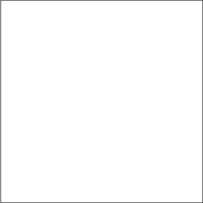 Bílá matná interiérová dlažba BLANC Bílá 40 x 40 cm