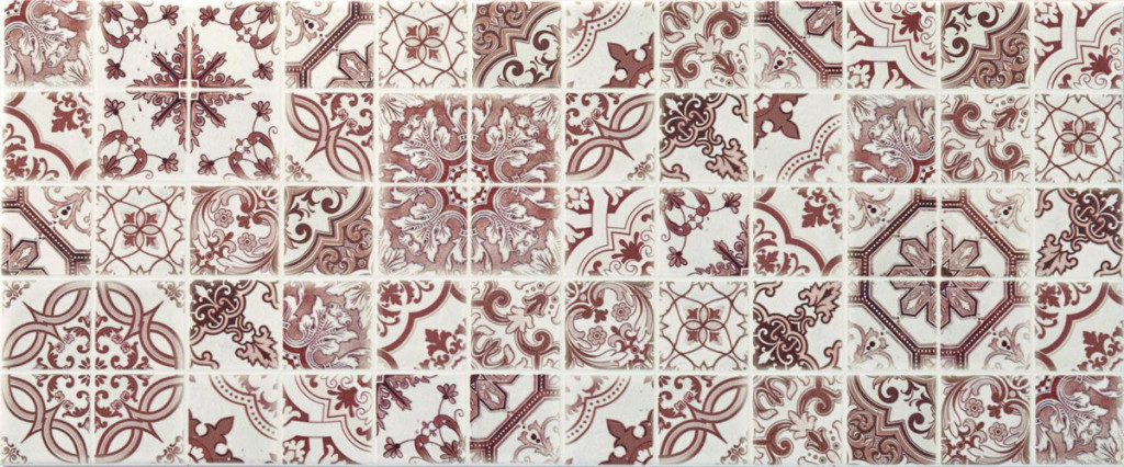 Interiérový patchworkový dekor BLOSSOM Beige DC Patchwork, 25 x 60 cm