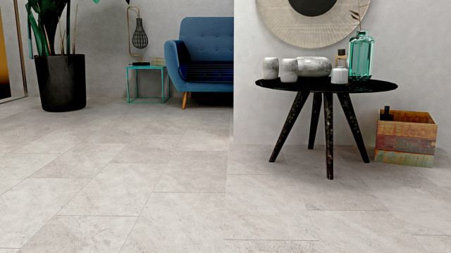 Dlažba v imitaci betonu FINESTONE Light Grey 30 x 60 cm