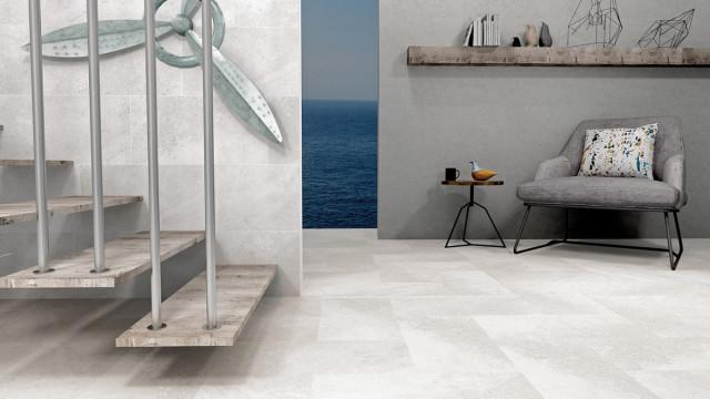 Dlažba v imitaci betonu FINESTONE White 30 x 60 cm