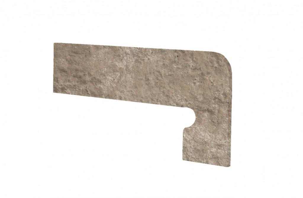 Schodový sokl MANHATTAN Mink 39,5x17,5cm