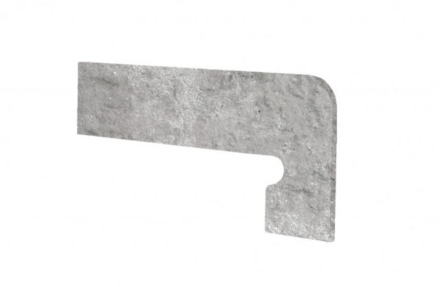 Schodový sokl MANHATTAN Grey 39,5x17,5cm