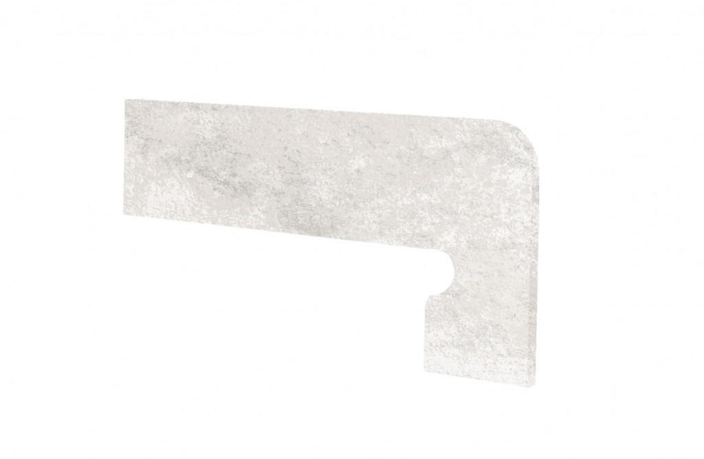 Schodový sokl MANHATTAN White 39,5x17,5cm