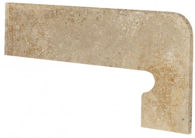 Schodový sokl LUCCA Terra 39,5x17,5cm