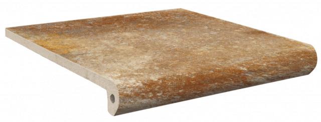 Schodovka LUCCA Terra 33x33x4x1,3cm