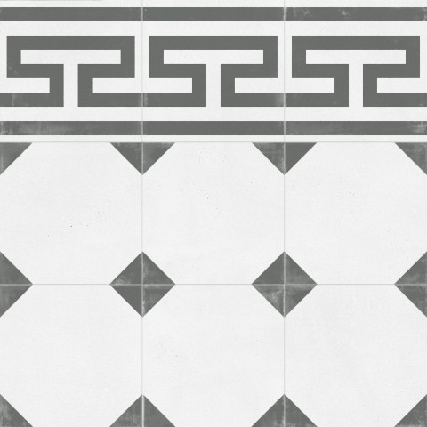 Dlažba TANGO Crespo Frieze natural 59,2 x 59,2 cm