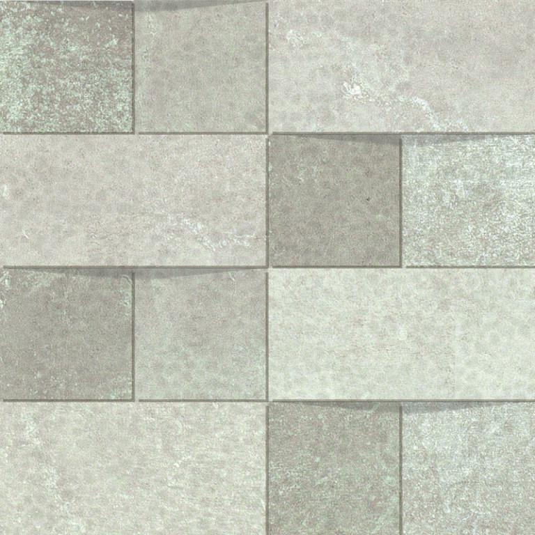 Mozaika ALCHEMY 7.0 White Hammered Mosaico 30 x 30 cm