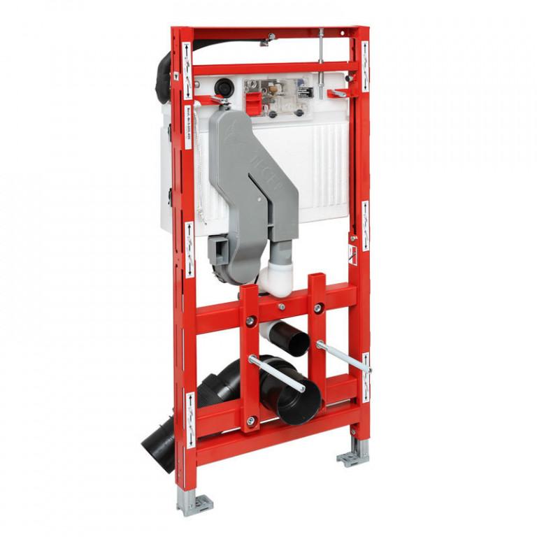 TECElux 400 montážní prvek pro WC, stavební výška 1 120 mm, výškově nastavitelný, s odtahem pachu