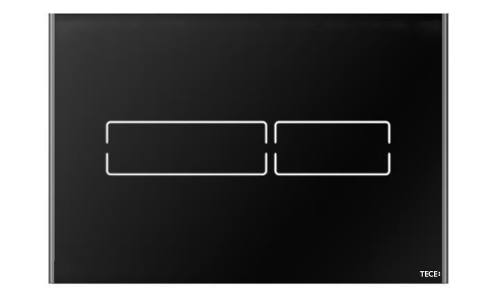 TECElux Mini, černé sklo