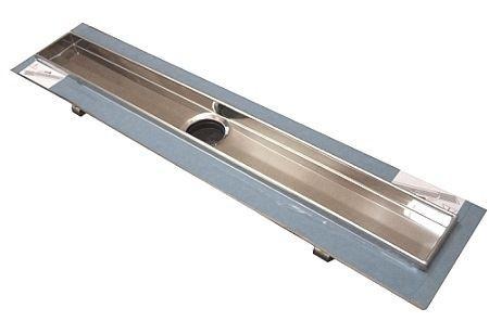 TECEdrainline, rovný žlábek s hydroizolační páskou Seal System