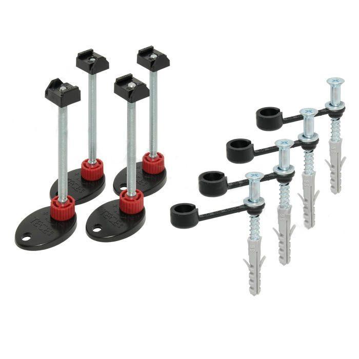 TECEdrainline montážní podpěry se zvukovou izolací (4ks)