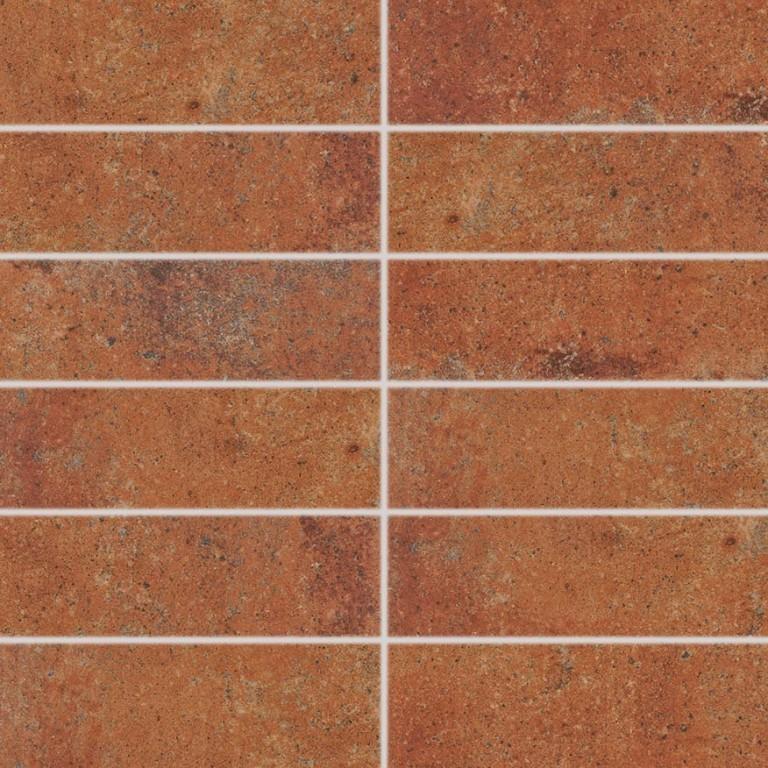 Rustikální dekor SIENA, 45 x 45 cm, Červeno-hnědá - DDP44665