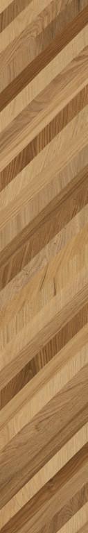 Dlažba mozaika v imitaci dubového dřeva TreverkLife Mos. Mix 35,5 x 35,5 cm