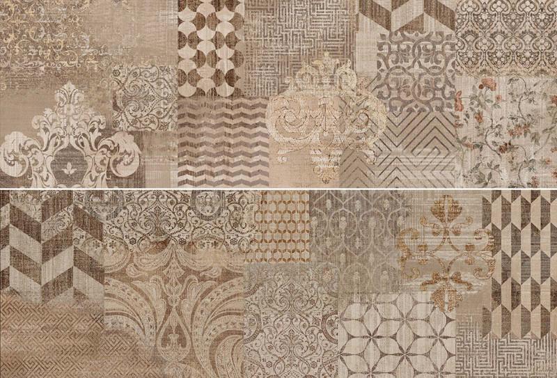 Velkoformátový dekorativní obklad v imitaci textilu FABRIC Decoro Tailor 40 x 120 cm