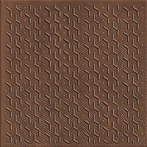 Dekor v imitaci železa DISTRICT 37,5x37,5cm č.1