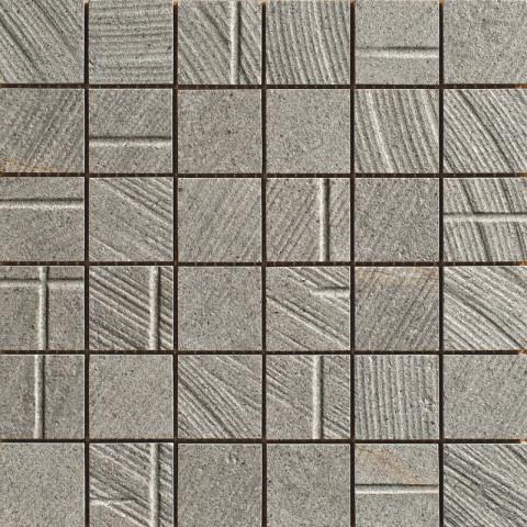 Mozaika v imitaci betonu MORE Arch 30x30cm č.1