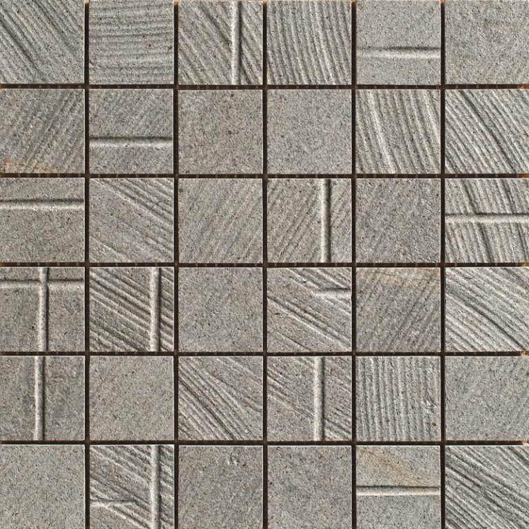 Mozaika v imitaci betonu MORE Arch 30x30cm