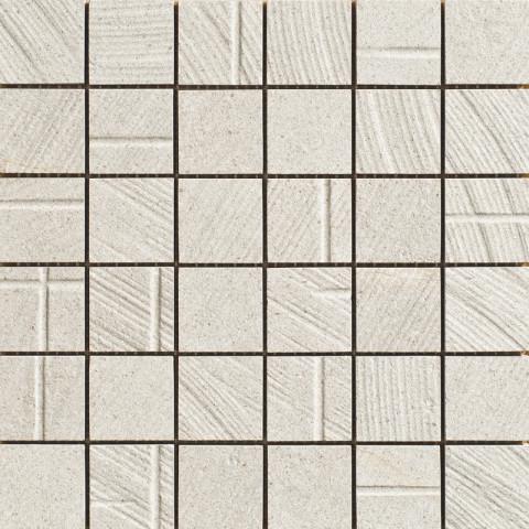Mozaika v imitaci betonu MORE Arch 30x30cm č.2