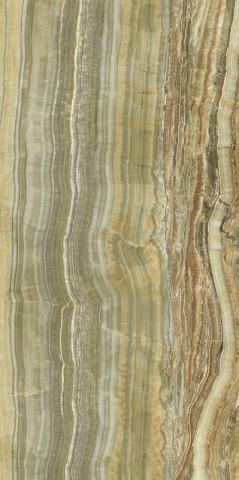 Velkoformátový obklad GREEN ONIX VEIN CUT 150x300cm, rektifikovaný č.1