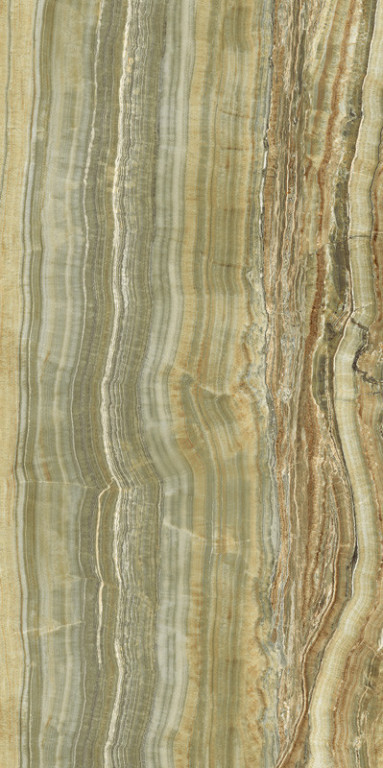 Velkoformátový obklad GREEN ONIX VEIN CUT 150x300cm, rektifikovaný
