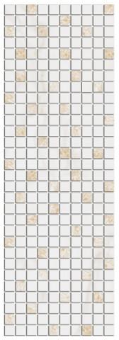 Mozaika ASTORIA White 27x75cm, rektifikovaný č.1