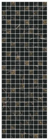 Mozaika ASTORIA Black 27x75cm, rektifikovaný č.1