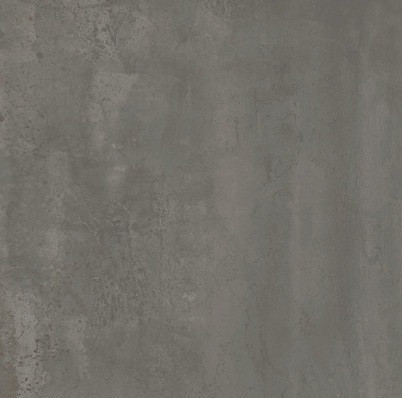 Velkoformátová dlažba v imitaci plechu MINERAL Iron rett. 75 x 75 cm