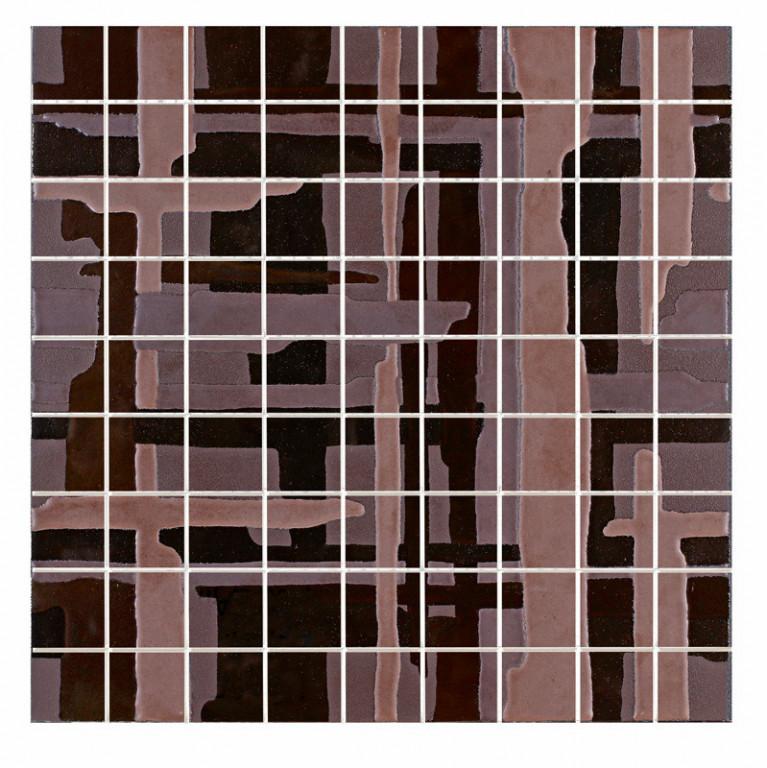 Mozaika MINERAL Bronze 37,5 x 37,5 cm